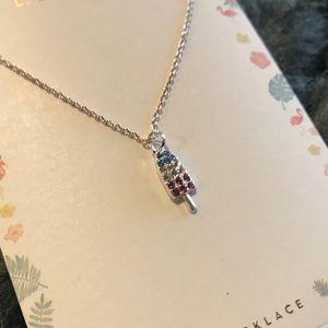 LC Lauren Conrad Popsicle Pendant Necklace